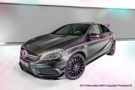 """Mercedes A 45 AMG """"Erika"""" Einzelstück"""