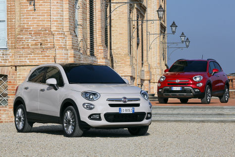 Fiat 500X Illustration