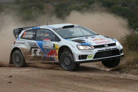 Der Finne Jari-Matti Latvala holte seinen zehnten WRC-Sieg