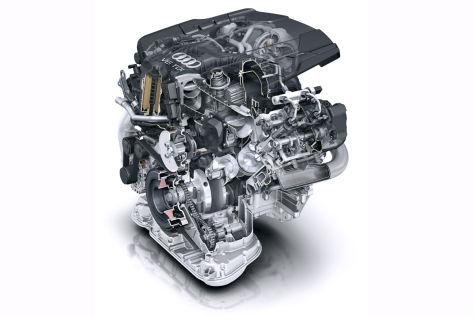 Neuer 3,0-Liter-V6-TDI von Audi