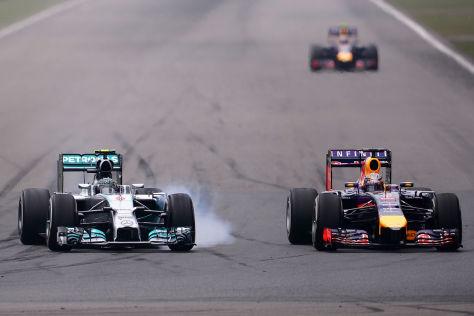 Mercedes & Red Bull
