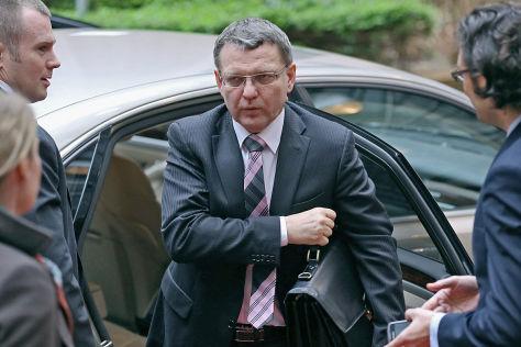 Tschechischer Außenminister geblitzt