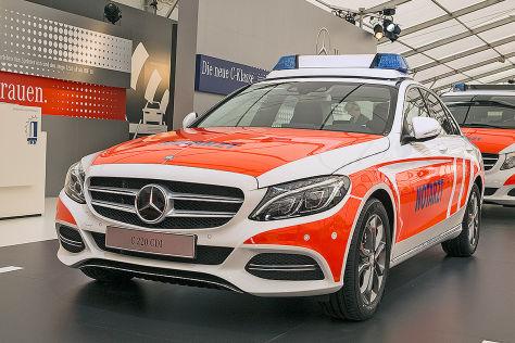 Mercedes C-Klasse Rettmobil