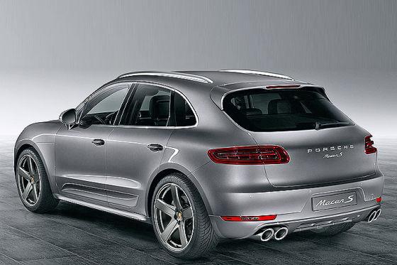 Porsche Macan mit Exclusive-Ausstattung