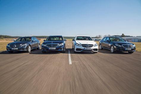 Mercedes E-Klasse AMG, Mercedes E 400 T, Mercedes E 250 CDI, Mercedes 220 BlueTec