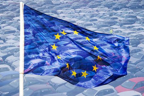 Symbolbild Neuzulassungen Europa
