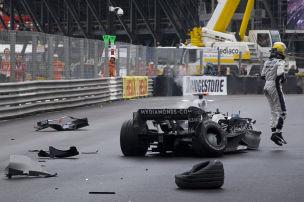 Formel 1: Die schlimmsten Monaco-Unf�lle