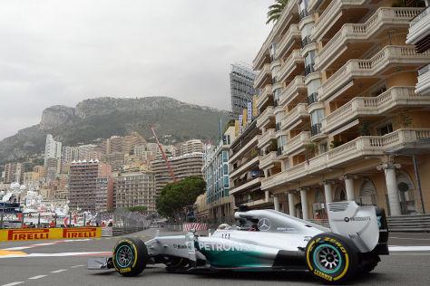 Mercedes in Monaco
