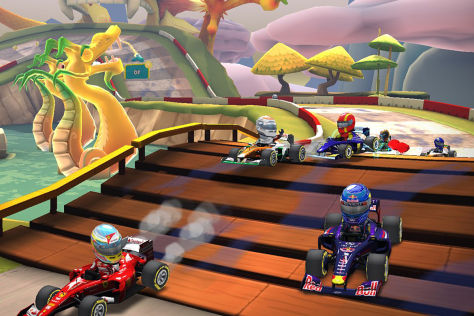 F1 Race Stars: iOS-App von Codemasters