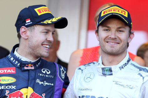 Vettel & Rosberg