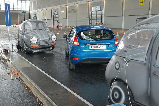 Deutschlands beste Autofahrer 2014: Einparken