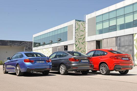 BMW 3er BMW 4er Gran Coupé BMW X4