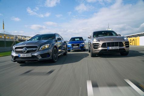 Audi/Mercedes/Porsche: Vergleich
