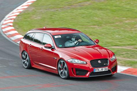 Jaguar XFR-S Sportbrake: Farbericht