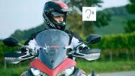 Motorrad-zu-Fahrzeug-Kommunikation