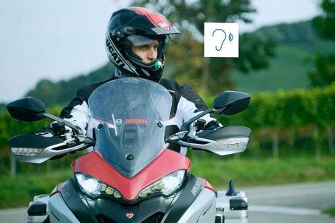 Bild zur UDV-Unfallstudie mit Motorradfahrern