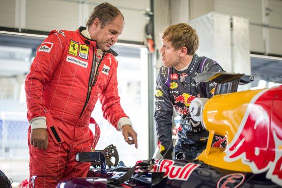 Vettel & Berger