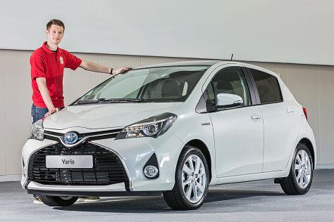 Toyota Yaris Facelift (2014): Sitzprobe