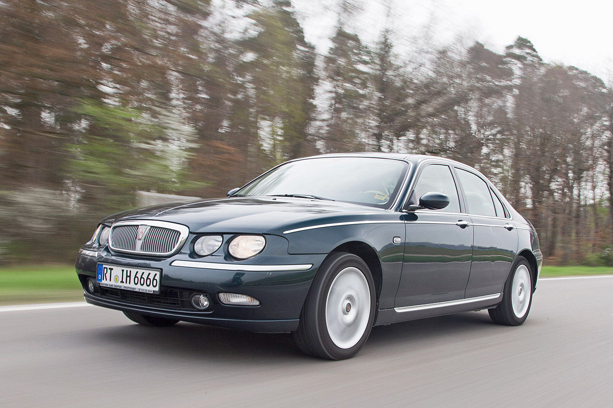 gebrauchter rover 75 im test bilder. Black Bedroom Furniture Sets. Home Design Ideas