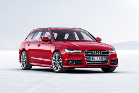 Audi A6 Facelift Illustration