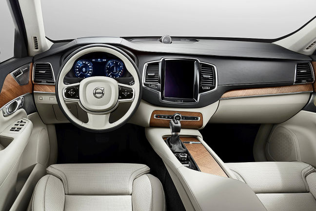 video volvo xc90 ii das cockpit. Black Bedroom Furniture Sets. Home Design Ideas