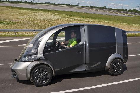 Elektro-Lieferwagen wird in Maastricht präsentiert