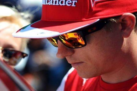 Kimi Räikkönen rechnet in diesem Jahr nicht mit seiner zweiten Fahrerweltmeisterschaft