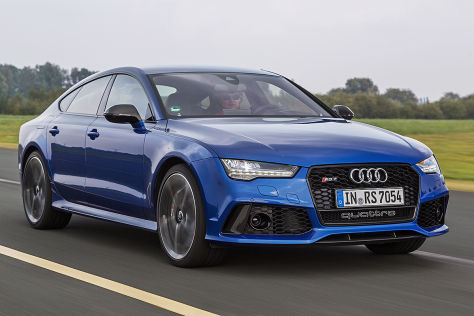 Audi A7 unf S7 Facelift: Sitzprobe