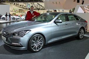 Hyundai Genesis AMI Leipzig 2014: Sitzprobe