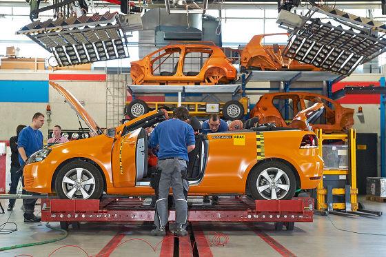ADAC-Überschlagstest: VW Golf Cabrio