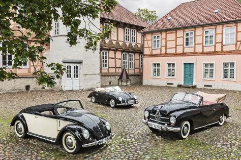 Vergleich: Luxus der frühen 50er-Jahre