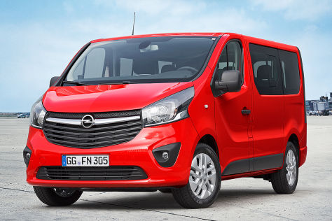 Opel Vivaro: Autosalon Genf 2014