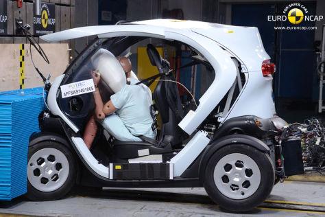 Euro NCAP Crashtest Juni 2014