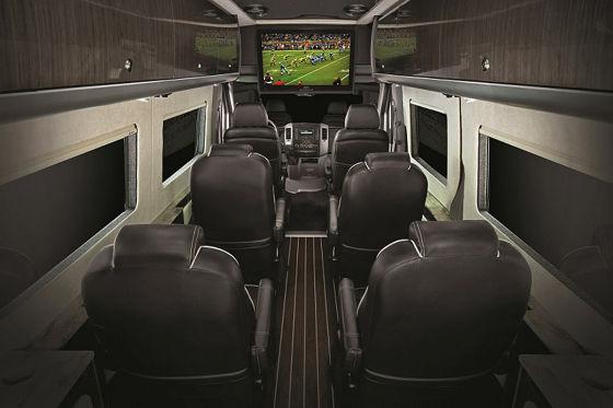 Mercedes Airstream Autobahn Innenraum