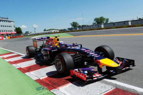 Nicht Vettel, sondern Ricciardo landete den ersten Red-Bull-Sieg 2014