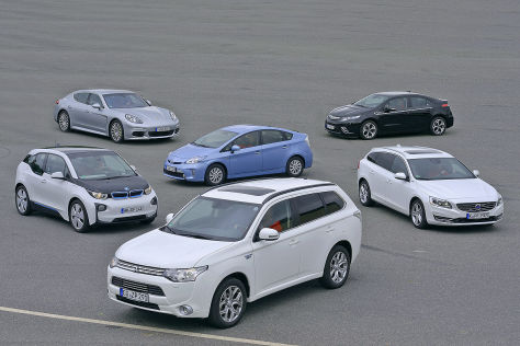 Sech Hybridautos im Test