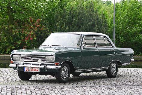 Opel Rekord B: Fahrt in Herbergers Auto