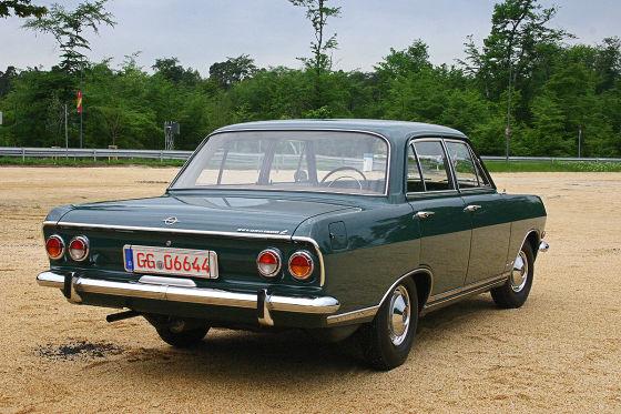 Opel Rekord B Sepp Herberger