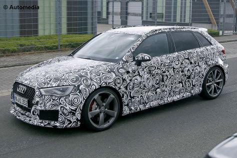 Audi RS 3 Erlkönig