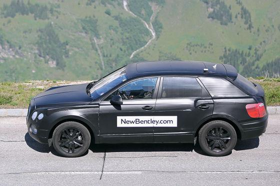 Bentley SUV Falcon Erlkönig