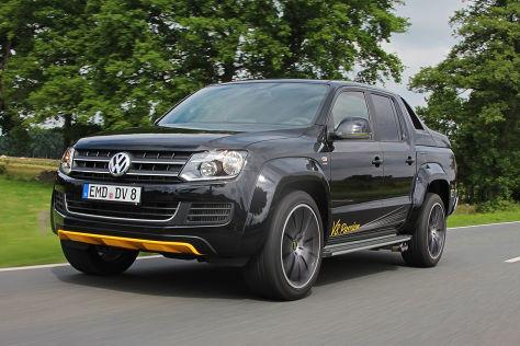 VW Amarok V8 Passion: Fahrbericht