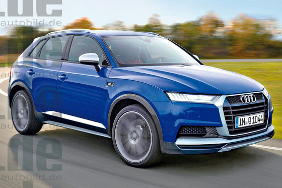 Audi Q1 Illustration