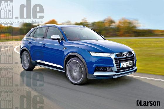 Audi Q1 Und Vw Golf Suv 2016 Autobild De