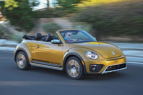 Erste Fahrt im VW Beetle Dune