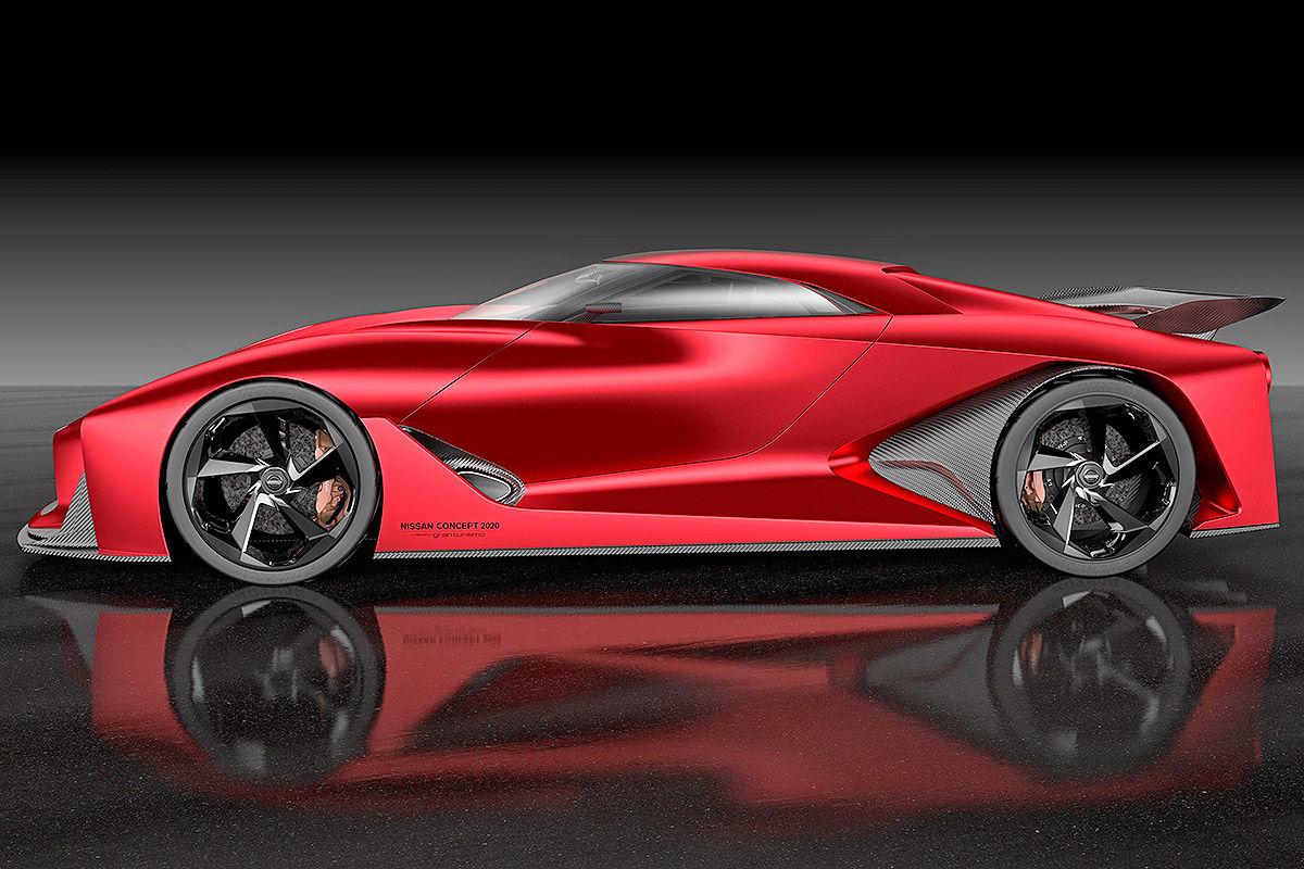 Gt5 nissan gt r concept tokyo motor show