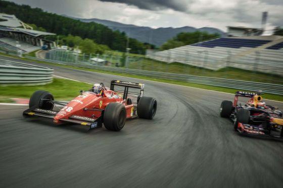 Ferrari & Red Bull