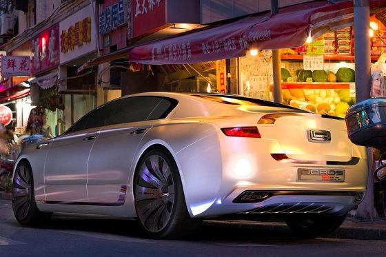 Qoros 9 Sedan Concept: Premium-Studie für 2020