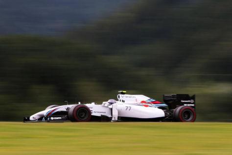 Valtteri Bottas war am Freitag um 0,002 Sekunden schneller als Felipe Massa