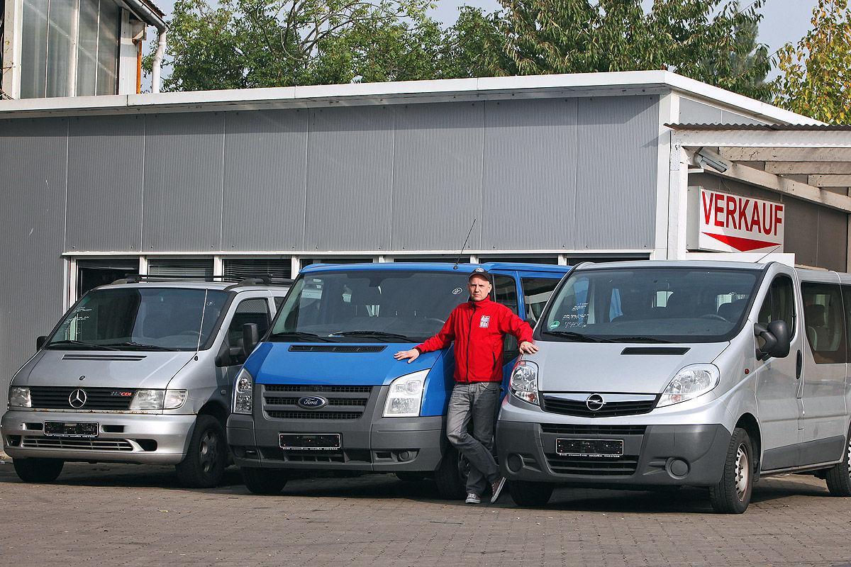 Mercedes Vito Ford Transit Und Opel Vivaro Im Test