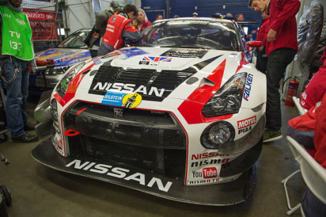 Nissan GT-R Nismo GT3: Sitzprobe